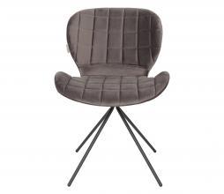 Afbeelding van product: Zuiver OMG stoel velvet grijs