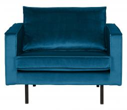 Afbeelding van product: BePureHome Rodeo 1,5 zits fauteuil velvet blue