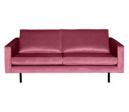 Afbeelding van product: BePureHome Rodeo 2,5 zits bank velvet roze