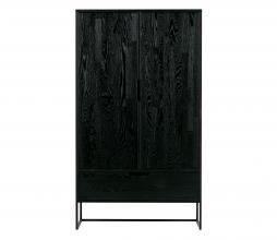 Afbeelding van product: WOOOD Exclusive Silas 2-deurs 149x85x36 cm kast geborsteld essen blacknight
