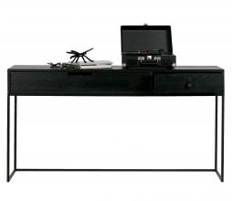 Afbeelding van product: WOOOD Exclusive Silas sidetable geborsteld eiken blacknight