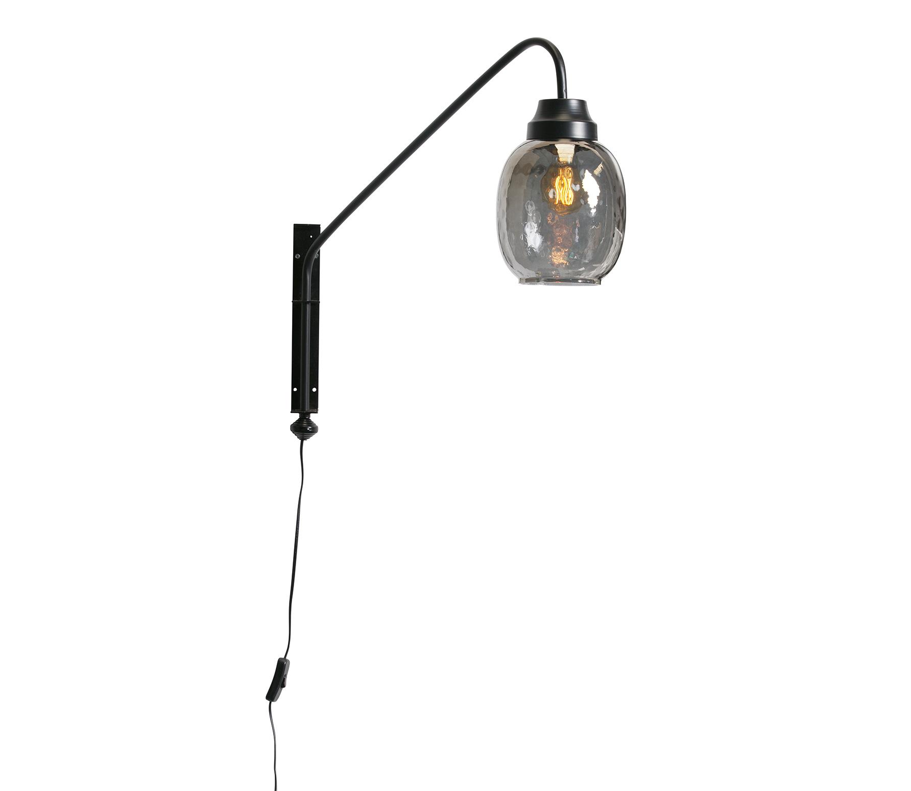 BePureHome Bubble wandlamp metaal zwart