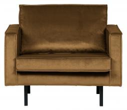 Afbeelding van product: BePureHome Rodeo 1,5 zits fauteuil velvet honing geel