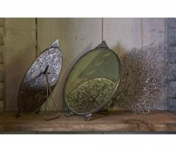Afbeelding van product: BePureHome Posh spiegel rond metaal antique brass