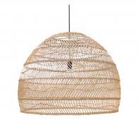 HKLiving Ball hanglamp Ø 80 cm riet naturel