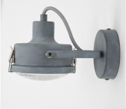 Afbeelding van product: Satellite 1 plafondlamp/wandlamp metaal grijs