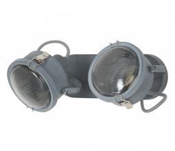 Afbeelding van product: Satellite 2 plafondlamp/wandlamp metaal grijs