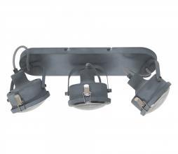 Afbeelding van product: Satellite 3 plafondlamp/wandlamp metaal grijs