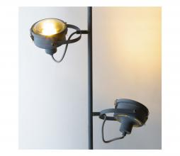 Afbeelding van product: Satellite vloerlamp grijs metaal
