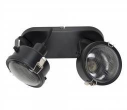 Afbeelding van product: Satellite 2 plafondlamp/wandlamp metaal zwart