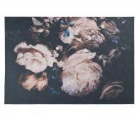 Peony vloerkleed lichtroze/zwart div. afmetingen 155x230cm