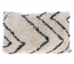 Afbeelding van product: HKLiving Kussen zigzag 40x60 cm katoen zwart/wit