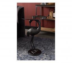 Afbeelding van product: Dutchbone Crane bijzettafel aluminium zwart