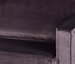 Afbeelding van product: BePureHome Rodeo daybed velvet donkergrijs rechts