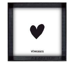 Afbeelding van product: vtwonen fotolijst 18x18 cm hout zwart