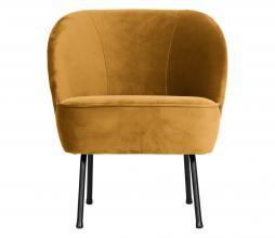 Afbeelding van product: BePureHome Vogue fauteuil velvet mosterd