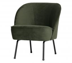 Afbeelding van product: BePureHome Vogue fauteuil velvet onyx