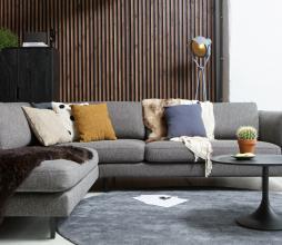 Afbeelding van product: WOOOD Exclusive Lester vloerlamp metaal betongrijs