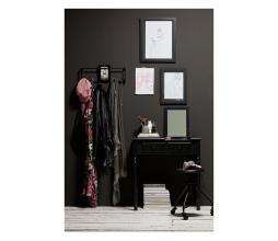 Afbeelding van product: WOOOD Romy hal/kaptafel hout zwart