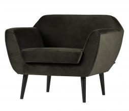 Afbeelding van product: WOOOD Rocco fauteuil velvet warm groen