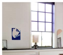 Afbeelding van product: HKLiving Hexagonal lampenkap M linnen naturel