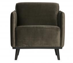 Afbeelding van product: BePureHome Statement fauteuil met arm velvet warm groen