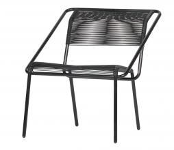 Afbeelding van product: BePureHome Wisp (binnen-buiten) stoel kunststof zwart