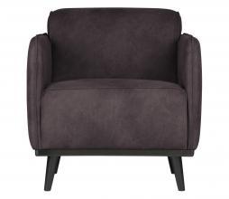 Afbeelding van product: BePureHome Statement fauteuil met arm recycle leer grijs