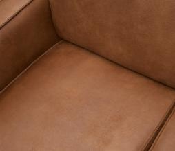 Afbeelding van product: BePureHome Statement hoekbank recycle leer cognac rechtervariant
