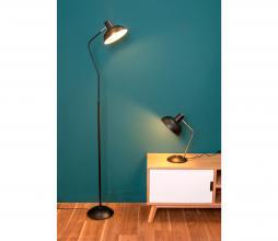 Afbeelding van product: Tafellamp Hood metaal mat zwart