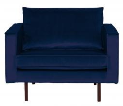 Afbeelding van product: BePureHome Rodeo 1,5 zits fauteuil velvet dark blue nightshade