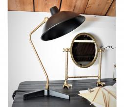 Afbeelding van product: Dutchbone Devi bureaulamp metaal zwart