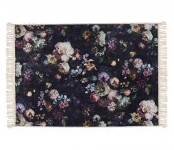 Afbeelding van product: Essenza Fleur vloerkleed 120x180 cm fleece velvet nachtblauw