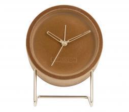 Afbeelding van product: Lush alarmklok Ø14 cm velvet karamel bruin
