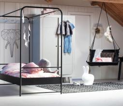 Afbeelding van product: Hang M high hangstoel (binnen-buiten) polyester zwart
