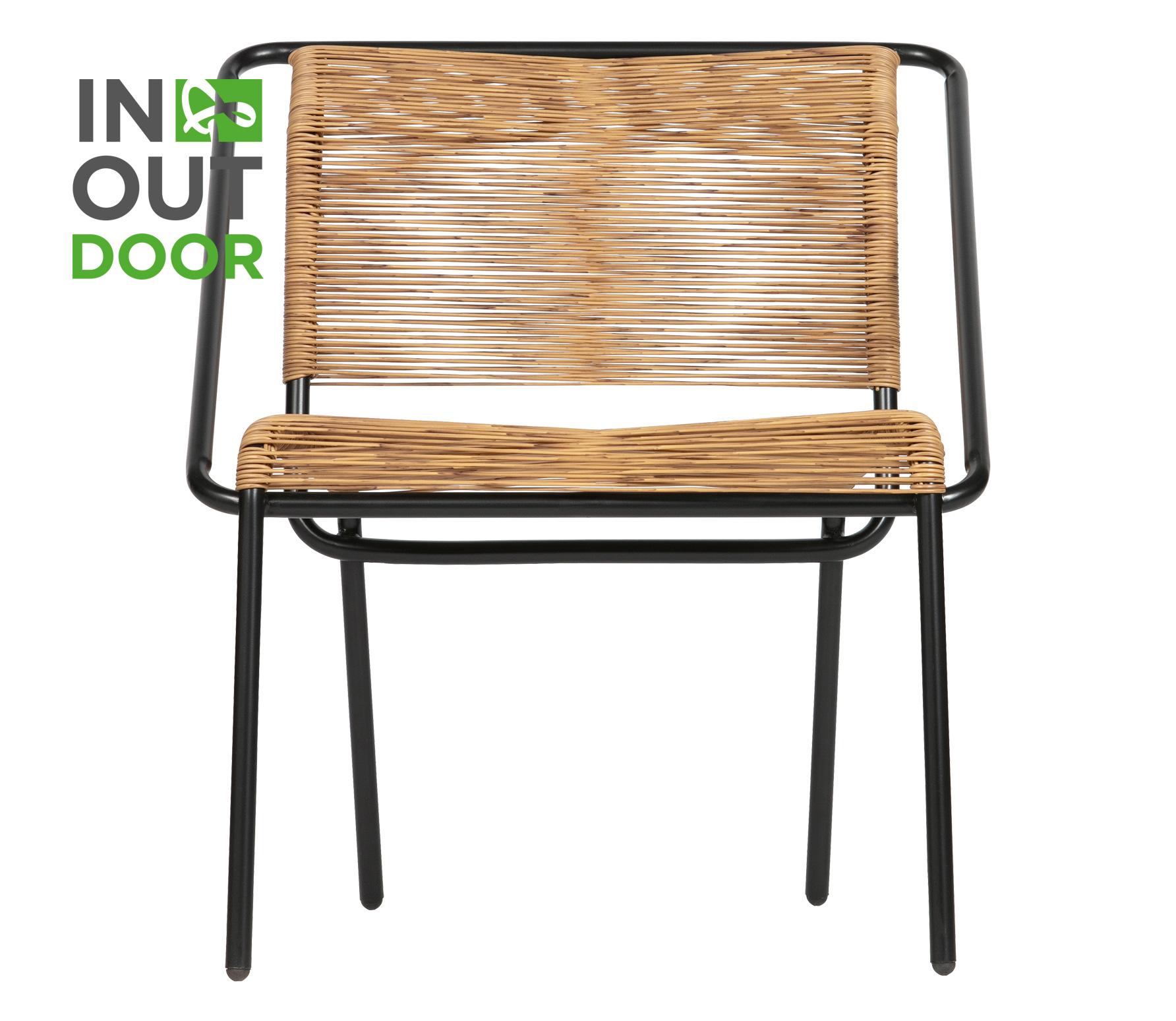 BePureHome Wisp fauteuil (binnen buiten) naturel