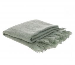 Afbeelding van product: HKLiving Throw plaid 125x150 cm wolmix mint