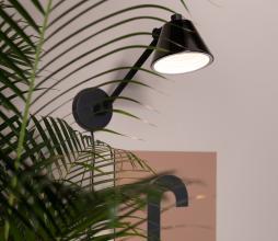 Afbeelding van product: Zuiver Lub wandlamp ijzer zwart