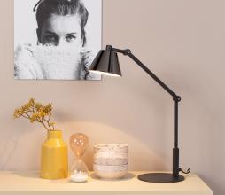 Afbeelding van product: Zuiver Lub bureaulamp ijzer zwart