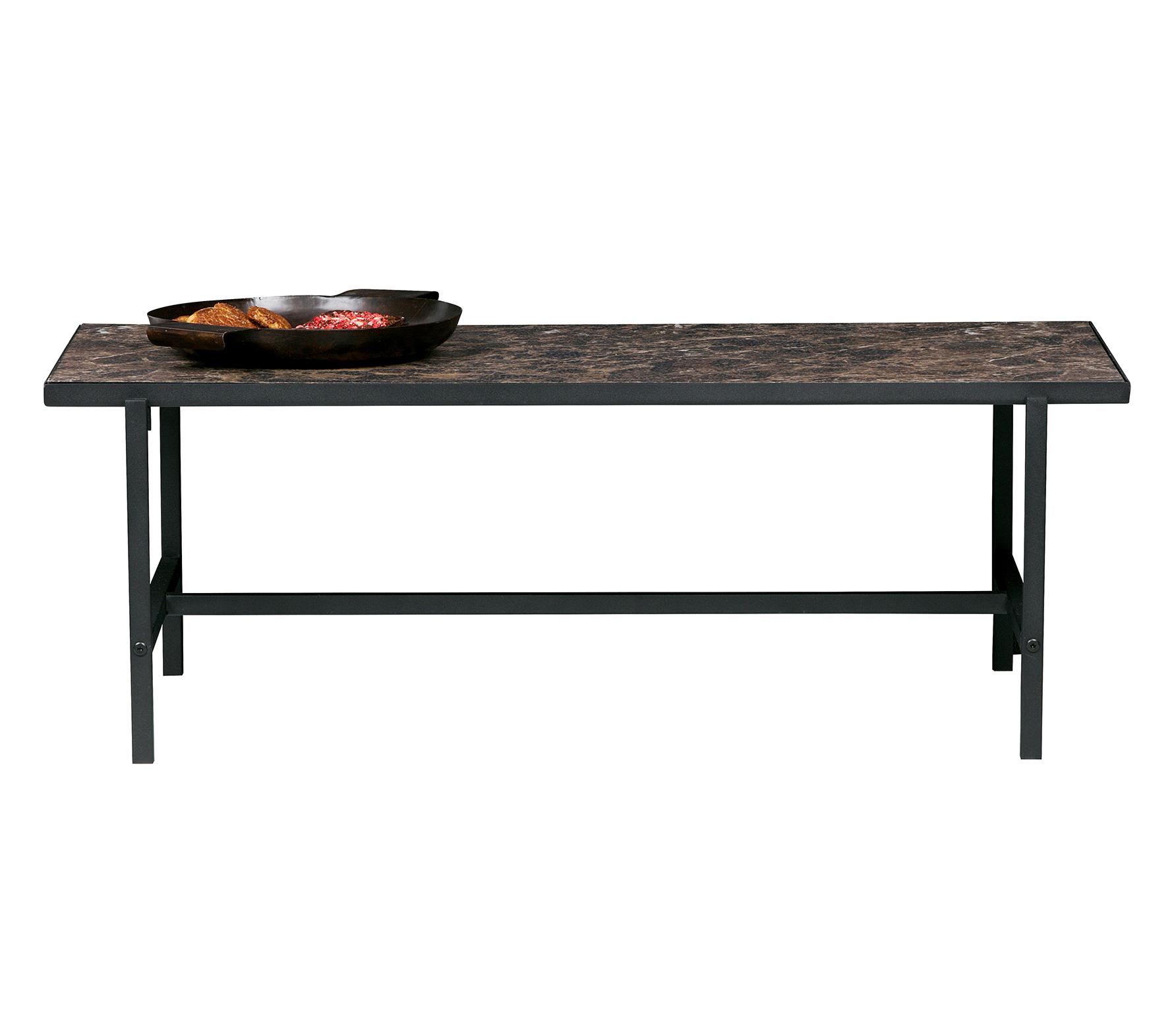 BePureHome Turn around salontafel hout zwart/bruin