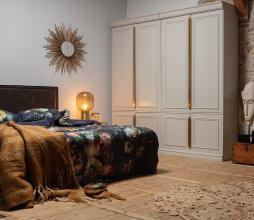 Afbeelding van product: BePureHome Organize garderobekast 215x110x62 cm mist grijs