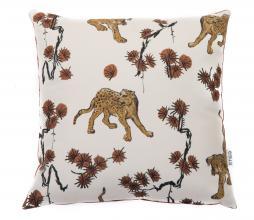 Afbeelding van product: Kussen tijger 50x50 cm katoen nude