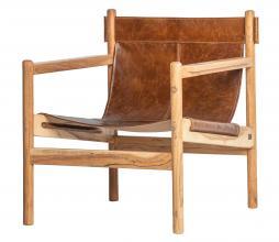 Afbeelding van product: BePureHome Chill fauteuil leer bruin