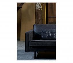 Afbeelding van product: BePureHome Rodeo hoekbank recycle leer zwart rechtervariant