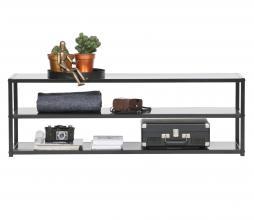 Afbeelding van product: WOOOD Teun TV meubel metaal zwart