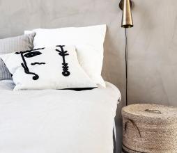 Afbeelding van product: House Doctor Ingo kussenhoes 50x50 cm linnen lichtbeige
