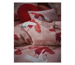 Afbeelding van product: Selected by Crane dekbedovertrek katoen rose 140x220 cm
