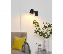 Afbeelding van product: Mizuko wandlamp metaal zwart