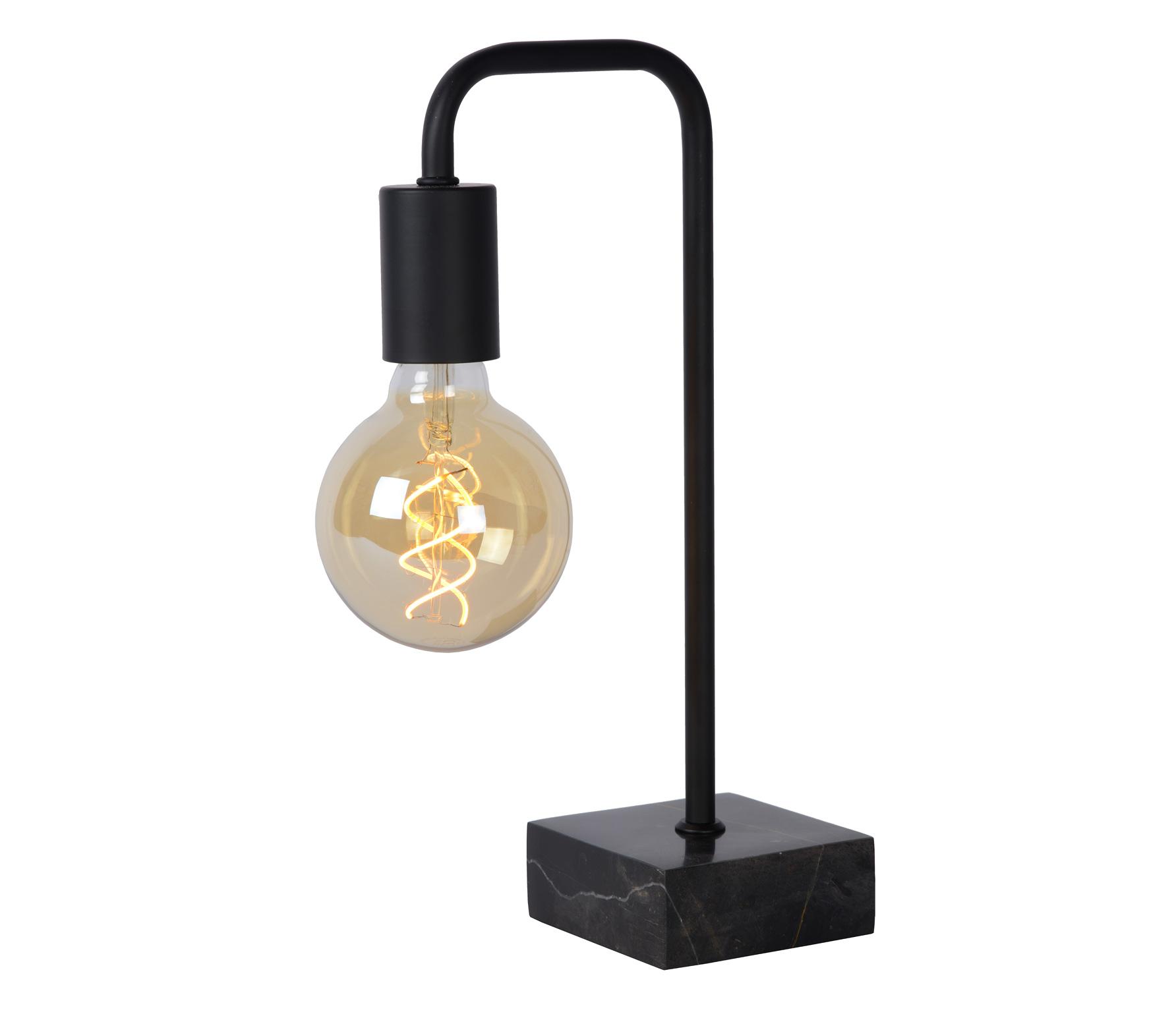 Lorin tafellamp metaal zwart