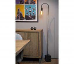 Afbeelding van product: Lorin vloerlamp metaal zwart
